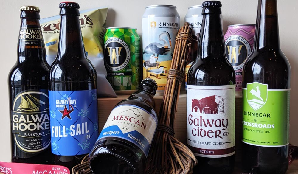 McCambridge's Irish Craft Beer Basket