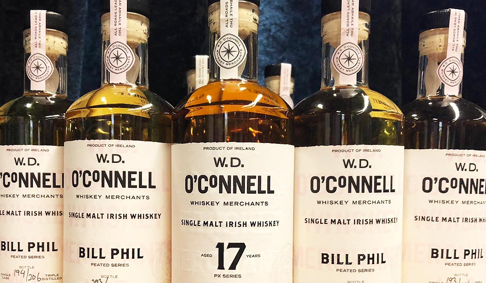 Gifts for men: W.D. O'Connell Whiskey Merchants 'PX Series' 17 Years Old Whiskey