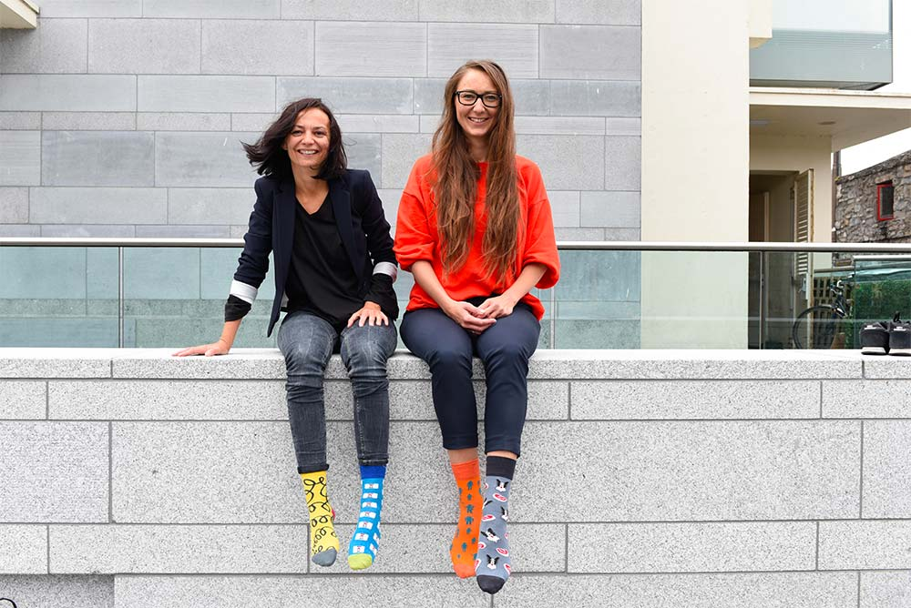 Alex and Joanna founded Irish Socksciety