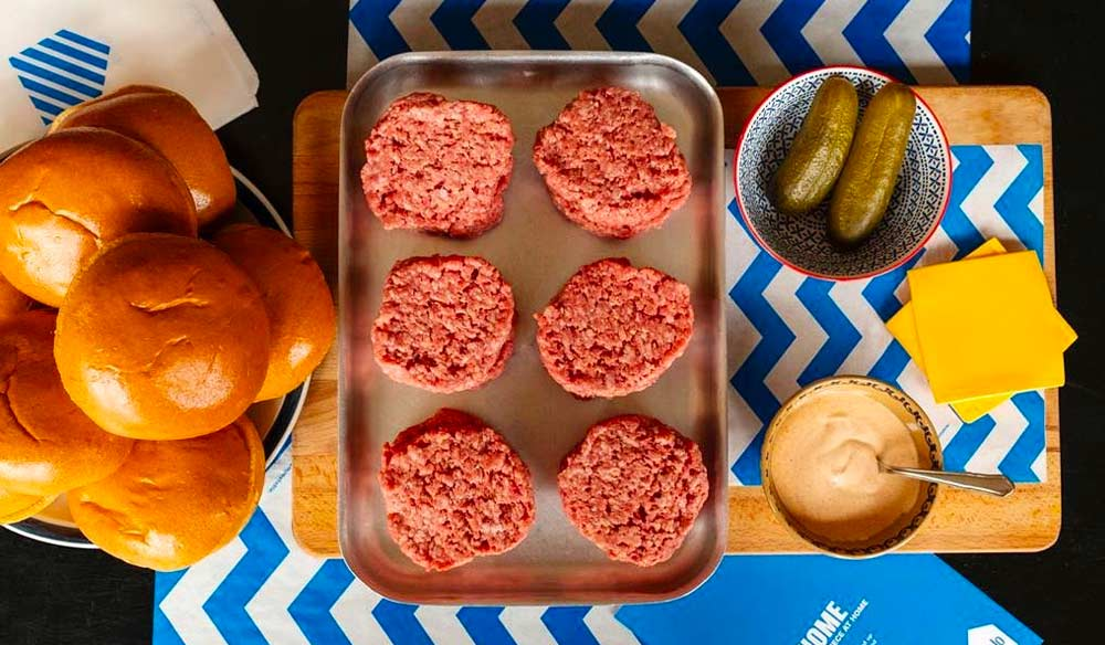 Buying local - Buju's make-at-home burgers