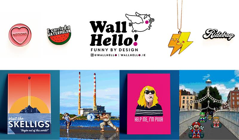 Wall Hello! - Funny by Design