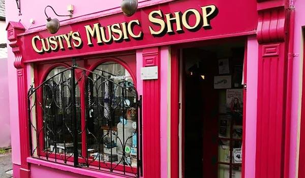 Custy's Music Shop