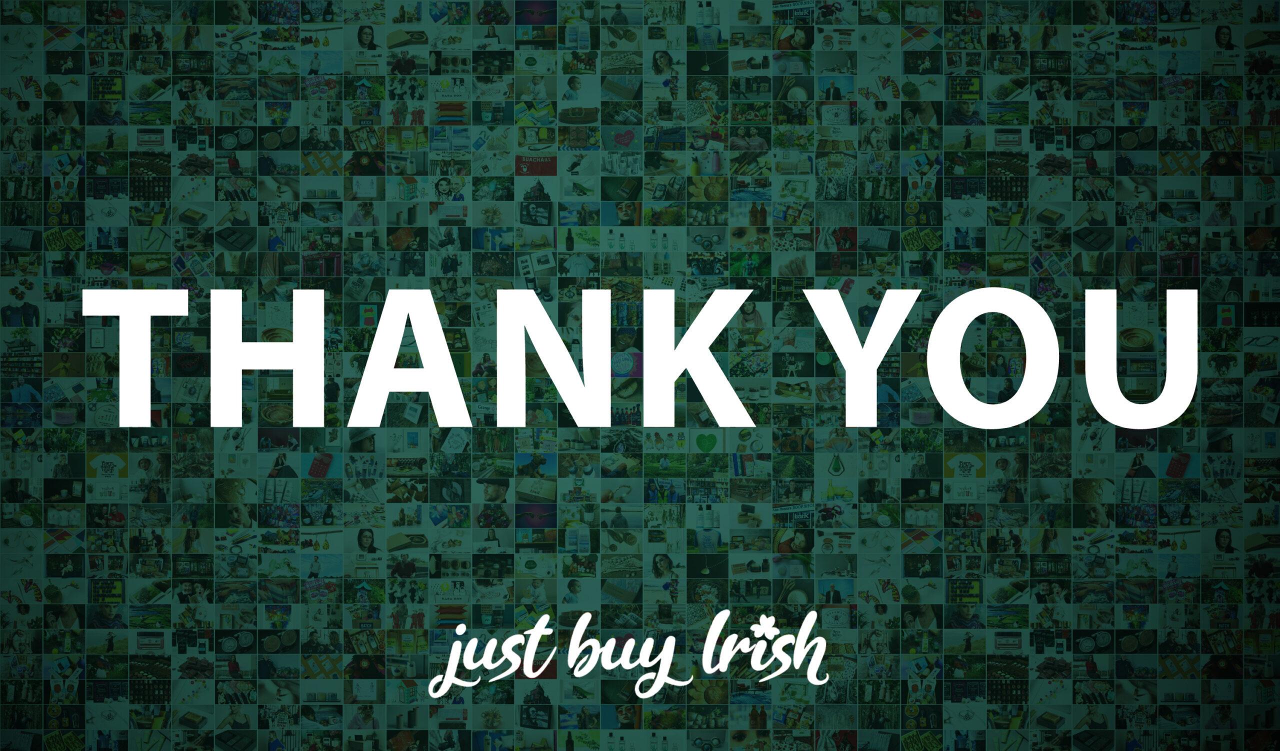 Just Buy Irish is saying goodbye